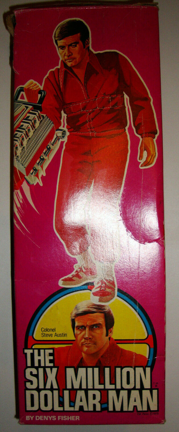 SIX MILLION DOLLAR MAN 12 Inch Figure DENYS FISHER FISHER FISHER BOXED Complete BIONIC Boxed 293a88