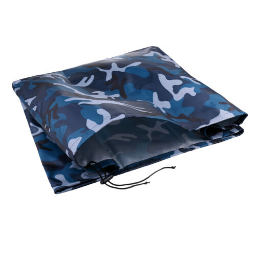 Ocean Camo Boat Yacht Outboard Motor Engine Cover Trailerable For 2 to 5 HP