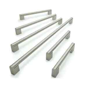 Designer Boss Bar Kitchen Cabinet Door Handle Brushed Nickel 128  480mm Centres - <span itemprop=availableAtOrFrom>Manchester, United Kingdom</span> - Returns accepted Most purchases from business sellers are protected by the Consumer Contract Regulations 2013 which give you the right to cancel the purchase within 14 days after the d - Manchester, United Kingdom