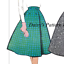 Vintage Vogue Sewing Pattern 1950s Skirt Petticoat Full Swing 9556 14 A Line 50s