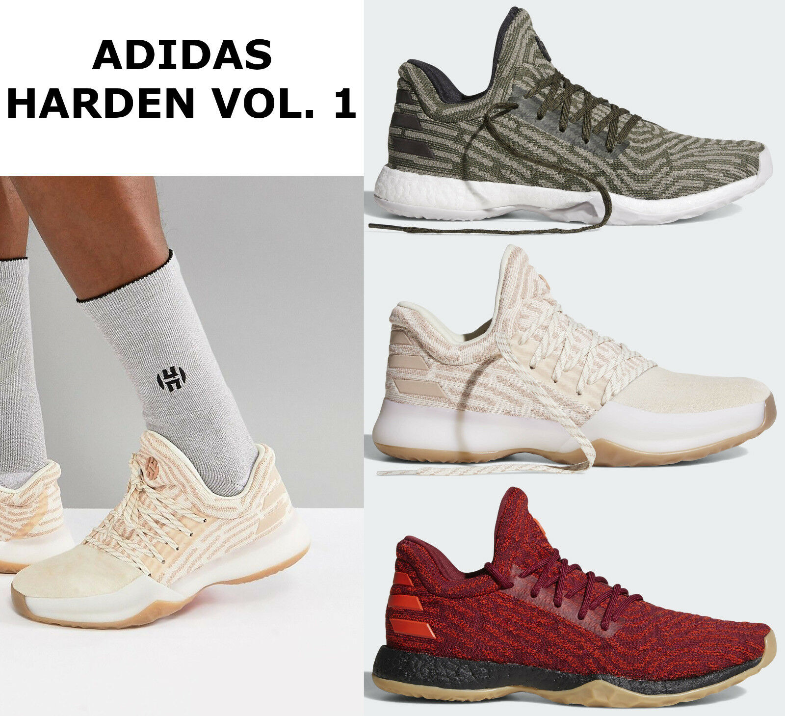 adidas Harden Vol 1 LS PK James