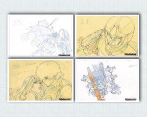 Mobile-Suit-Gundam-Thunderbolt-Anime-Reproduction-Prints-Genga-Set-Sunrise-Japan