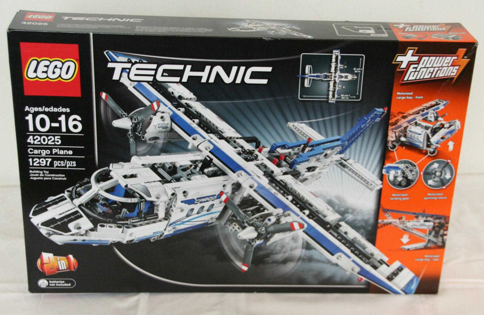 LEGO Technic 42025 Cargo Plane 1295 Pieces Nuovo Sealed