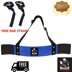 NEW-WEIGHT-LIFTING-BODYBUILDING-BICEP-ARM-BLASTER-FITNESS-EZ-BAR-CURL-ARMS