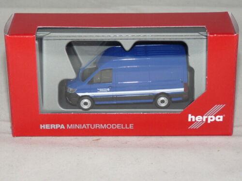 OVP herpa 095518 VW Crafter Kasten HD THW Dresden 1:87 NEU