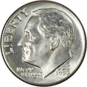 1983-D-10c-Roosevelt-Dime-US-Coin-BU-Uncirculated-Mint-State