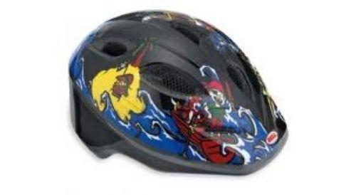 Helme & Protektoren Bell Splash Helm Kinder schwarz/blau Piraten Gr 46-50cm Helme