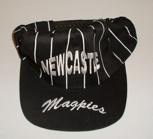 Newcastle-Magpies-Baseball-Type-Cap-Very-Good-Condition