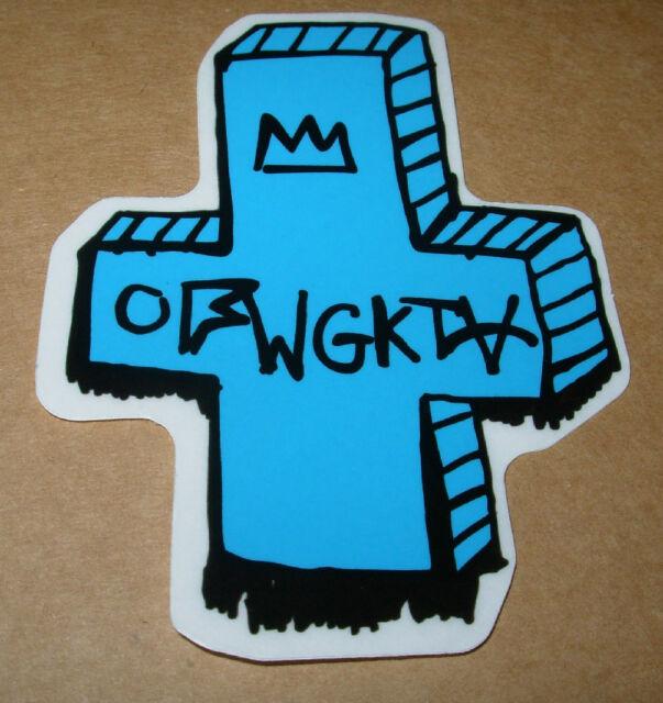 odd future ofwgkta sticker blue band logo decal tyler the creator ebay