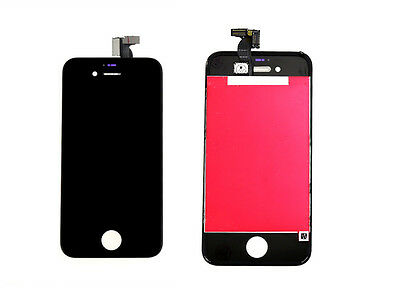 New Black FULL Touch Digitizer Screen Glass LCD Display for iPhone 4G GSM