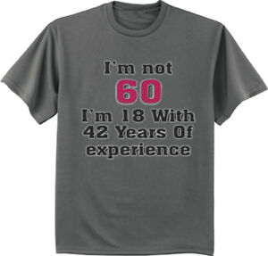 Image Is Loading 60th Birthday Gift T Shirt Turning 60 Funny