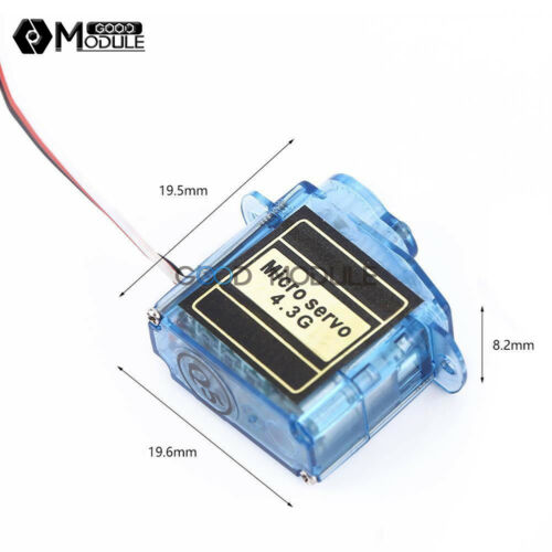 4.3g 3.7g Servo MiNi Micro For Control Aeromodelling Aircraft Flight Direction
