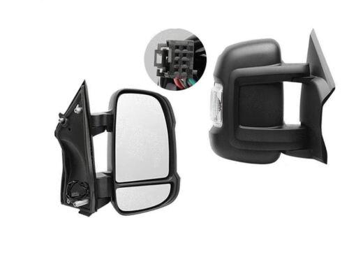 Fiat Ducato porte complète Aile Miroir Chauffant Électrique bras court droit O//S 2006 Sur