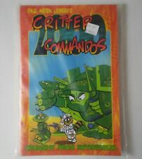 Critter Commandos 2000 By Paul Arden LidbergEnglishPaperback Book Crunchy Frog