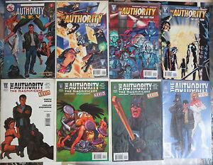 Authority-Mini-Library-Garth-Ennis-laugh-riot-Kev-Hawkins-Apollo-Lot-of-18