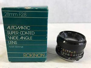 Rokinon-Automatic-Super-Coated-28mm-F2-8-Lens-Wide-Angle-E5