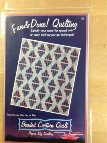 Beaded Curtain Quilt Quilt As You Go by Fairy Lake Quilts $ Sizes