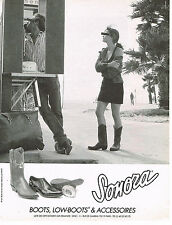 PUBLICITE ADVERTISING 074  1990   SONORA   boots low-boots & accessoires