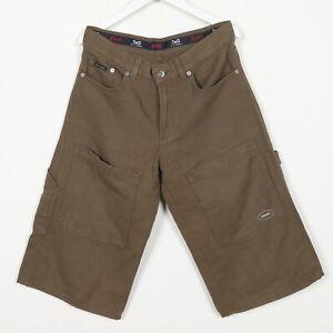 Vintage-DOLCE-amp-GABBANA-Knee-Length-Shorts-Brown-34-034-Waist