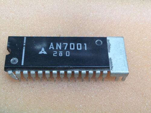 1 pc AN7001   Mitsubishi  Stereo Tuner System  DIP28  NOS  #BP