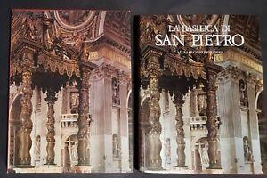 Libro-Carlo-Pietrangeli-La-Basilica-di-San-Pietro-Saint-Peter-Rome-Book