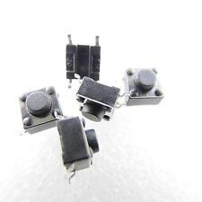 10x SMD Mikrotaster Mikroschalter AUS-(EIN) 6x6x5 mm 0,05A-12V Drucktaster mini