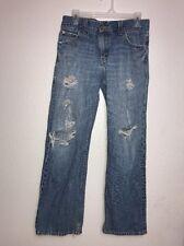 Levis 549 Mens Low Rise Loose Fit Jeans Medium Wash Distressed