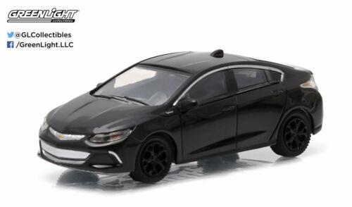 GREENLIGHT 1//64 BLACK BANDIT SERIES 12 2016 CHEVY VOLT DIECAST CAR 27780-F