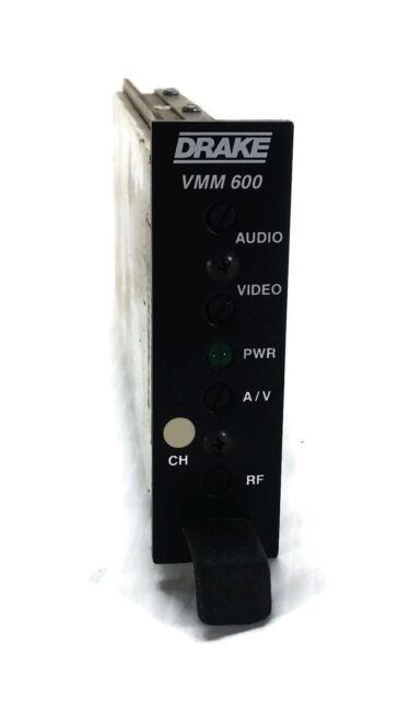 VMM600 Drake Audio Video Modulator Channel 22 Micro Mod 45 DB