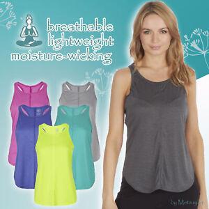 Mujeres-senoras-sin-mangas-Yoga-Racer-Back-Camiseta-sin-mangas-Chaleco-Correr-Entrenamiento
