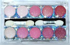 Crossdresser 10 Color Blend Sparkle Eyeshadow Palette Kit Glitter Ingrid`