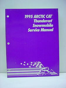 Arctic Cat 1995 Snowmobile Thundercat Service Repair Manual Used #53
