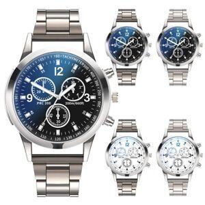 Fashion-Men-Stainless-Steel-Sport-Watch-Quartz-Analog-Luxury-Business-Wristwatch