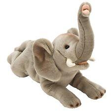 Suki Gifts Yomiko Classics Jungle & Wildlife Elephant Medium Gray Soft Plush Toy