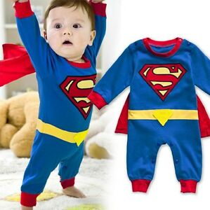 image is loading baby boy girl superhero costume halloween outfit romper