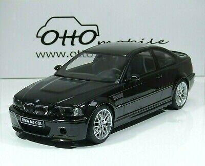 BMW m3 e46 CSL coupê année modèle 2003 noir//carbone-toit 1:12 go34 Ottomobile