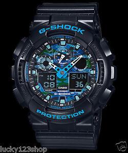 2c5cd9ddd584e Details about GA-100CB-1A Black Casio Men s Watch G-Shock Analog Digital  Resin 200m New