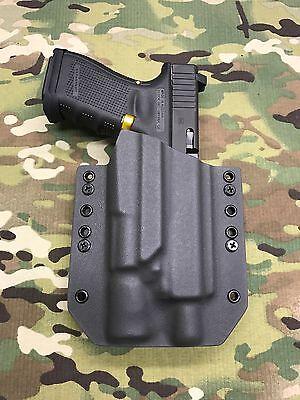 Armor Gray Kydex IWB Holster for Glock 19//23 Threaded Barrel X300 Ultra B