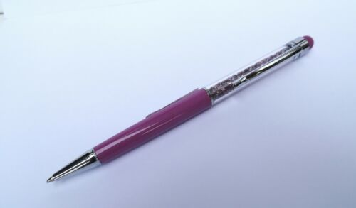 TOUCH SCREEN PENS-GREAT VALUE-REFILLABLE AND CHOICE OF 6 DIFFERENT COLOURS-NEW