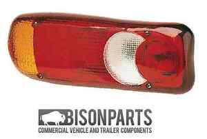 *VAUXHALL MOVANO FLAT BED / TIPPER REAR LIGHT LAMP LENS N/S PASSENGER BP90-105