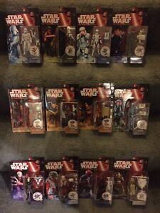 Star Wars Le Réveil de la Force Complete Wave 2 Set 3,75 figurines Hasbro dans la main