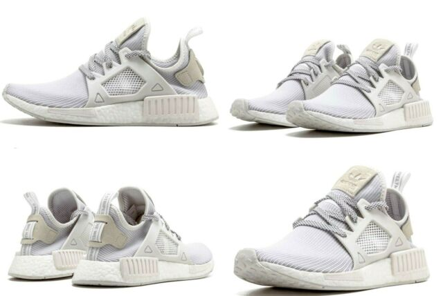 competitive price c234a d4928 Adidas Originals NMD XR1 Shoes Triple White Womens Size 6.5 US NIB BB3684