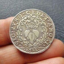 Marie de Médicis, Epouse d'Henri IV - Jeton argent - 1622
