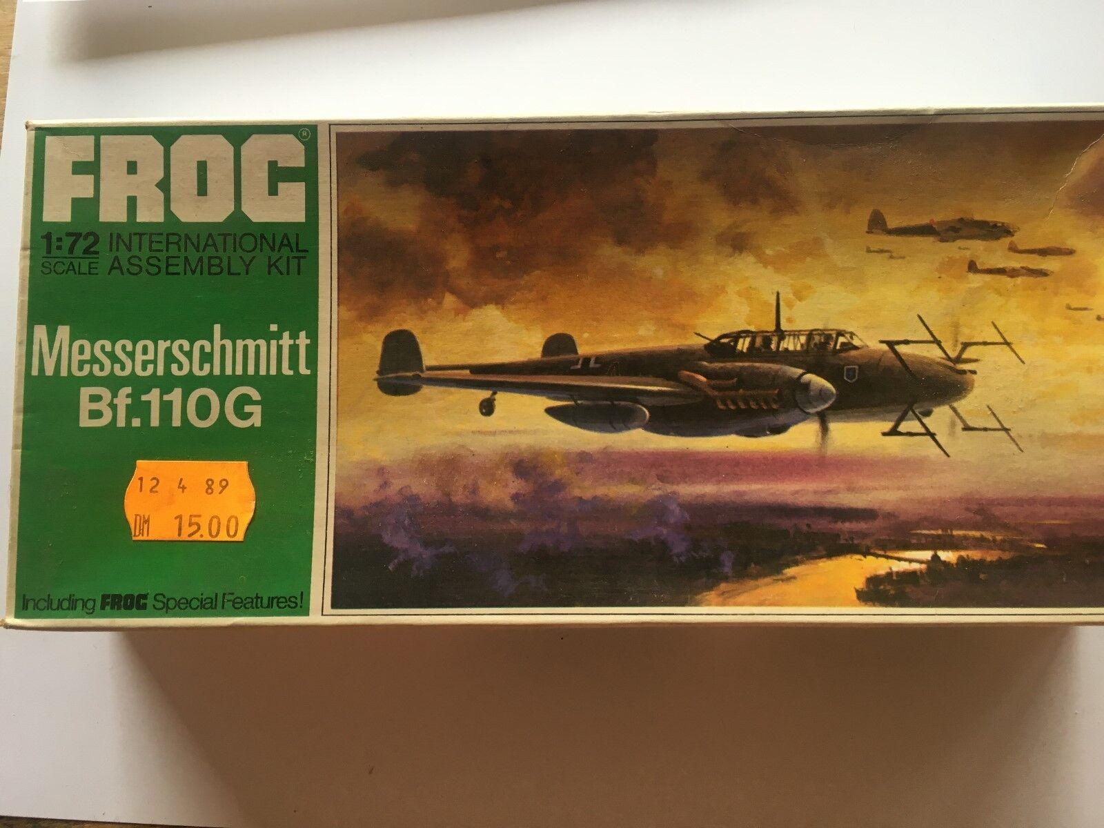 FROG Messerschmitt Bf.110G OVP und original Decals 1 72 Grün series F202  | Hohe Qualität Und Geringen Overhead