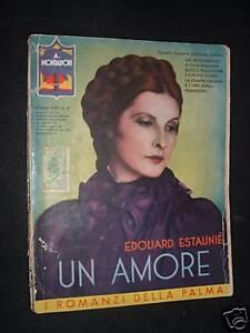libro-UN-AMORE-ROMANZI-DELLA-PALMA-MONDADORI-1933-n-13