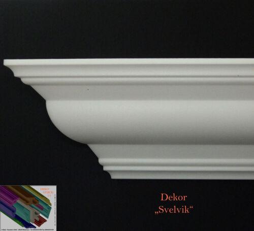 """16 Meter Stuckprofile 10cmx10cm Stuckleisten Zierleisten  Dekor/""""Svelvik/"""""""
