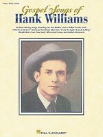 Gospel Songs Of Hank Williams Sheet Music Piano Vocal Guitar Songbook 000306305