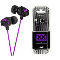JVC HA-FX101V Xtreme Xplosives In Ear Canal Headphones HAFX101 Violet