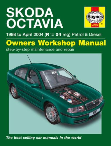 SKODA OCTAVIA Benzina Diesel 98-04 manuale HAYNES 4285