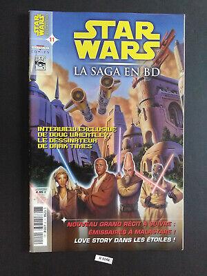 STAR WARS LA SAGA EN BD - N°11 - COMICS DELCOURT - VF - R ...